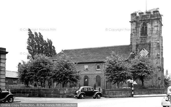 Holmes Chapel, the Church c1955