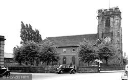 St Luke's Church c.1955, Holmes Chapel