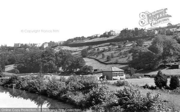 Holmfirth, the Bowling Green c1955