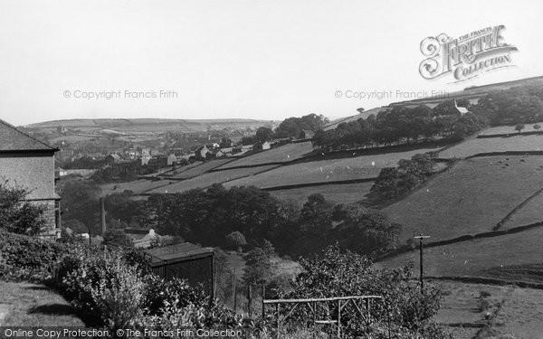 Holmfirth, Wards Bank c1955