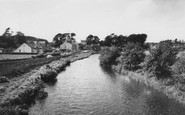 Holmrook, the River and Village c1955