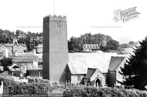 Holne, the Church c1950