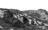 Holne, near Bench Tor c1871