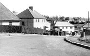 Holsworthy, the New Housing Estate c1955