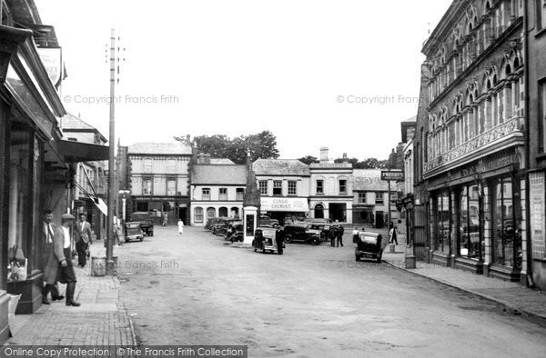 Holsworthy, the Square 1949