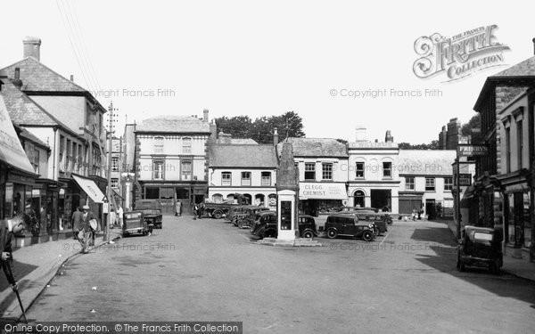 Holsworthy, the Square c1955