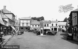 Holsworthy, The Square c.1950