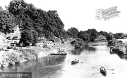 Holt, Boating On The River Dee c.1955