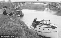 Boats On The Severn c.1955, Holt Fleet
