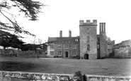 Holt Fleet, Holt Castle c1955