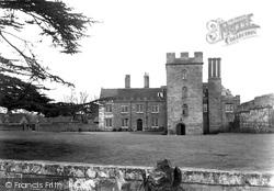 Holt Castle c.1955, Holt Fleet