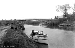 The Bridge c.1955, Holt Fleet