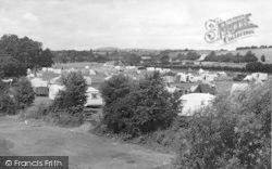 The Camping Ground c.1955, Holt Fleet