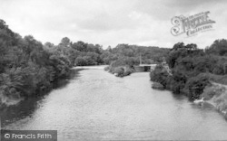 The River, Lock And Weir 1955, Holt Fleet