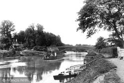 The River Severn 1907, Holt Fleet