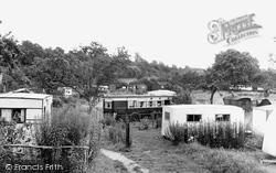 The Wharf Hotel Camping Site c.1955, Holt Fleet