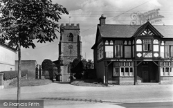 Holt, St Chad's Church And Village c.1950