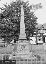 The War Memorial c.1960, Holt
