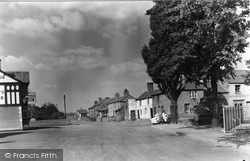 View Of Village c.1950, Holt