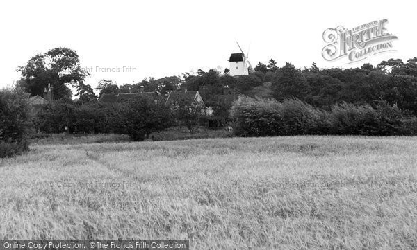,Holton, the Windmill c1955, Suffolk,