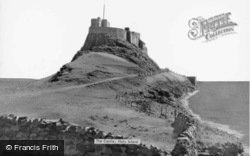 Holy Island, Castle c.1955