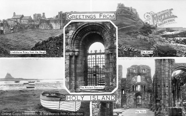 Photo of Holy Island, Composite c.1940