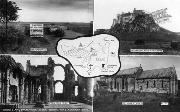Photo of Holy Island, Composite c.1960