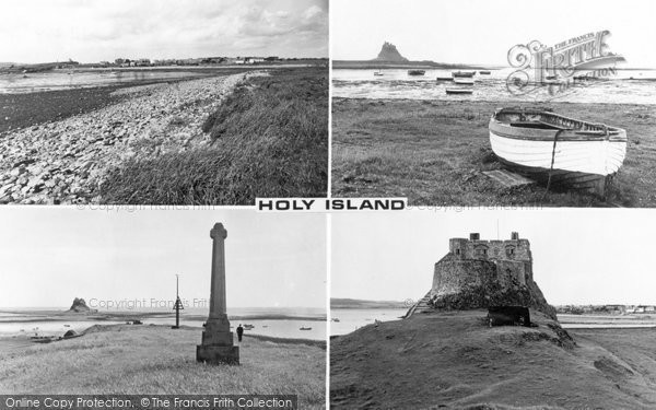 Photo of Holy Island, Composite c.1960