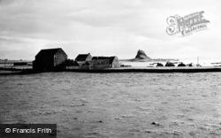 Holy Island, Farm And Lindisfarne Castle 1950