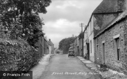 Holy Island, Front Street c.1939