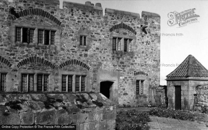 Photo of Holy Island, Lindisfarne Castle 1954