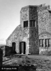 Holy Island, Lindisfarne Castle 1954