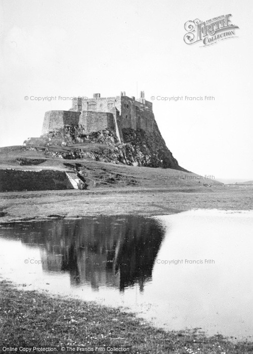 Photo of Holy Island, Lindisfarne Castle c.1960