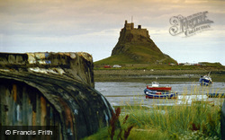 Holy Island, Lindisfarne Castle c.1990