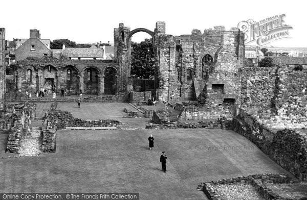 Photo of Holy Island, Lindisfarne Priory c.1950