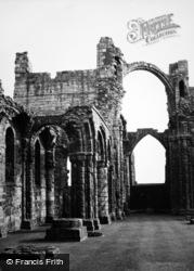 Holy Island, Lindisfarne Priory c.1950