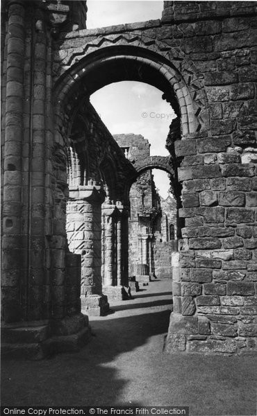 Photo of Holy Island, Lindisfarne Priory c.1960