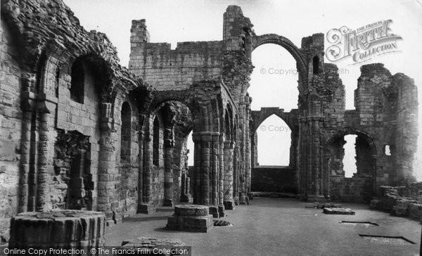 Photo of Holy Island, Lindisfarne Priory c.1960
