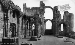Holy Island, Lindisfarne Priory c.1960