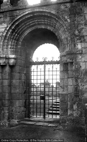 Photo of Holy Island, Lindisfarne Priory, The Ancient Doorway c.1950