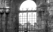 Holy Island, Lindisfarne Priory, The Ancient Doorway c.1950