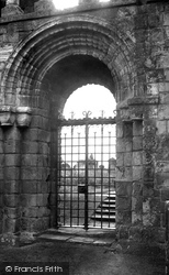 Holy Island, Lindisfarne Priory, The Ancient Doorway c.1950