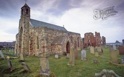 Holy Island, Lindisfarne Village Church c.1990