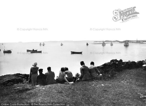 Photo of Holy Island, Regatta Day c.1940