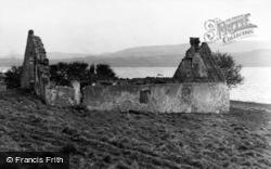 Holy Island, Ruined House 1958