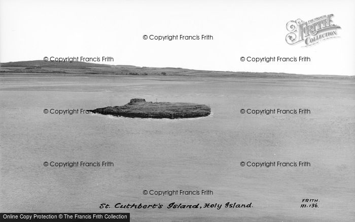 Photo of Holy Island, St Cuthbert's Island c.1955