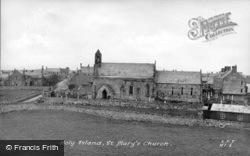 Holy Island, St Mary's Church c.1939