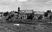 Holy Island, St Mary's Church c.1955