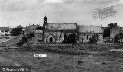 Holy Island, St Mary's Church c.1955