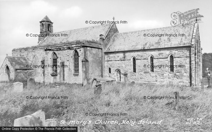 Photo of Holy Island, St Mary's Church c.1960